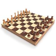 Качающиеся шахматы 3d model