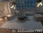 Relax Room 3d model