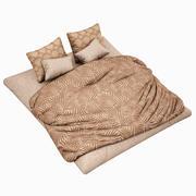 Bed Set 09 Highpoly 3d model