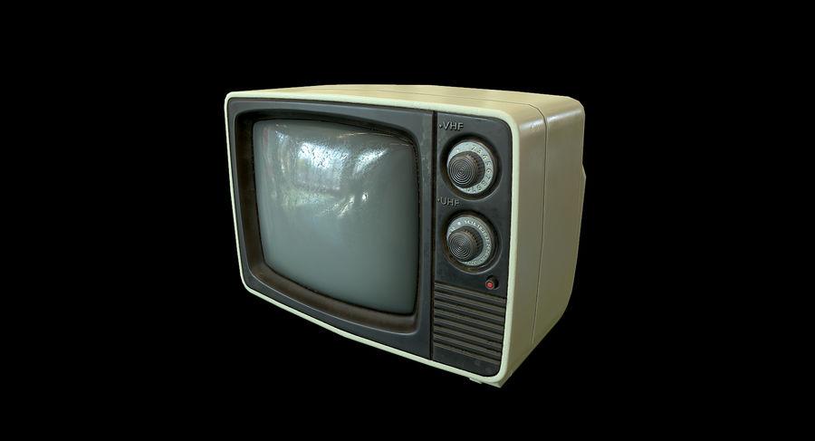 레트로 TV-게임 준비 royalty-free 3d model - Preview no. 2