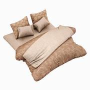 Bed Set 11 Highpoly 3d model