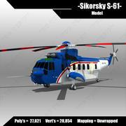 Sikorsky S-61 3d model