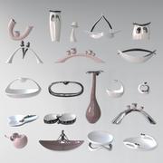 Konst keramik 3d model