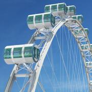 SALE PRICE Singapore Flyer Observation Wheel 3d model