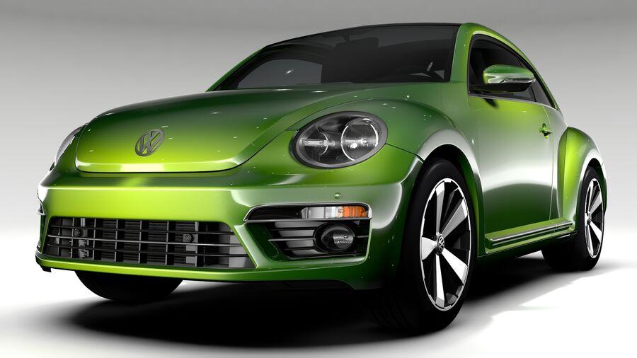 VW Beetle 2017 royalty-free 3d model - Preview no. 1