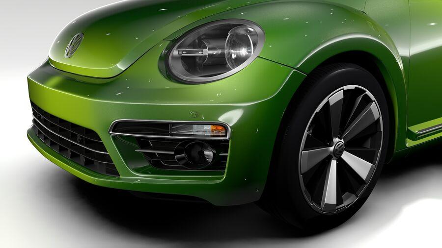 VW Beetle 2017 royalty-free 3d model - Preview no. 3