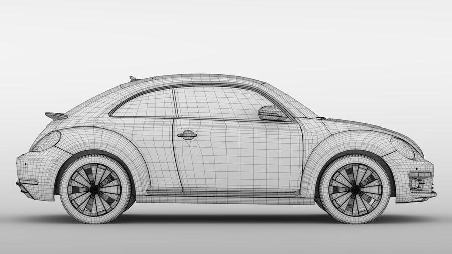 VW Beetle 2017 royalty-free 3d model - Preview no. 18