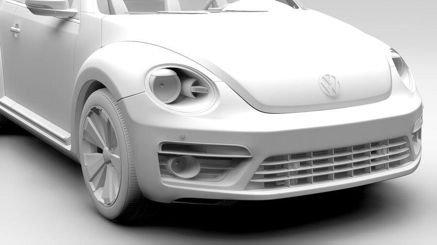 VW Beetle 2017 royalty-free 3d model - Preview no. 13