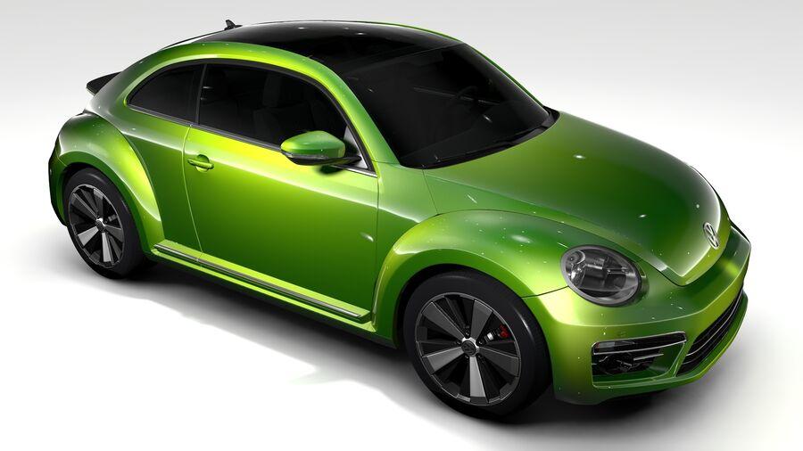 VW Beetle 2017 royalty-free 3d model - Preview no. 10