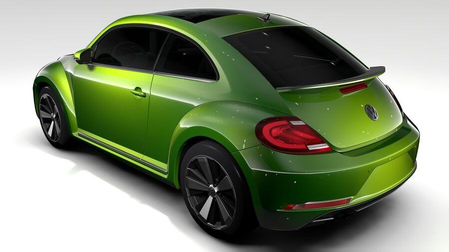 VW Beetle 2017 royalty-free 3d model - Preview no. 6