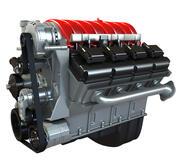 Motor de coche modelo 3D modelo 3d