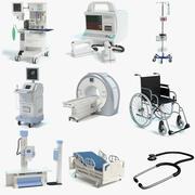 Medical Equipment Set 3 3d model