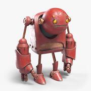 Robô Triste 3d model