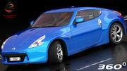 Nissan 370Z Z34 2010 3d model