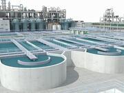 Avloppsvattenreningsplats 3d model