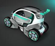 city car 3d model