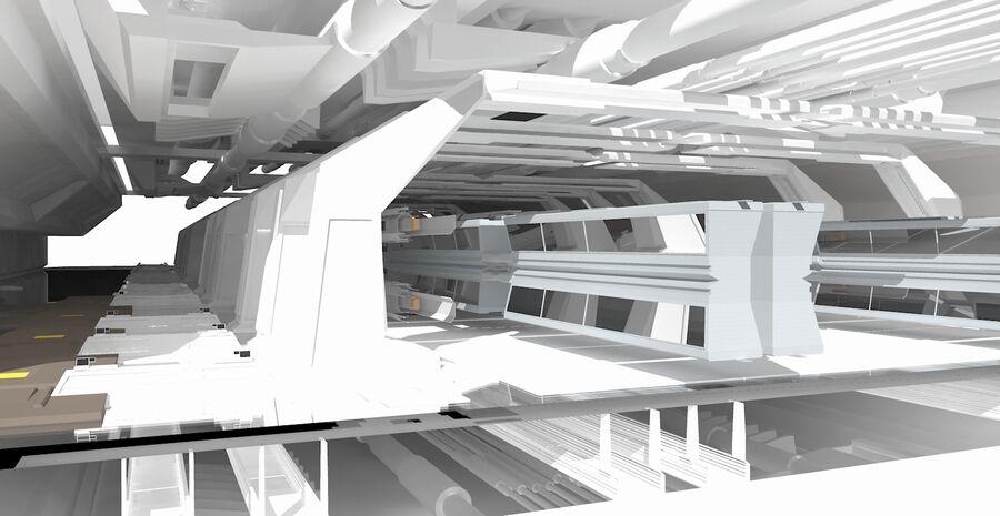 Hangar Bay royalty-free 3d model - Preview no. 7