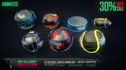 Collezione Sport Balls Concept 3d model