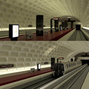 Metro Collection 3d model
