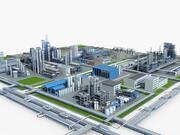 Mega Rafineri 3d model