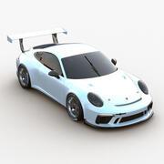 Porsche 991 GT3 Kupası 2017 3d model