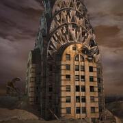 Post Apocalyptic Chrysler Building 2011 3dsMax V-Ray 3d model
