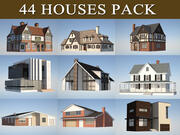 Pack maison 3d model