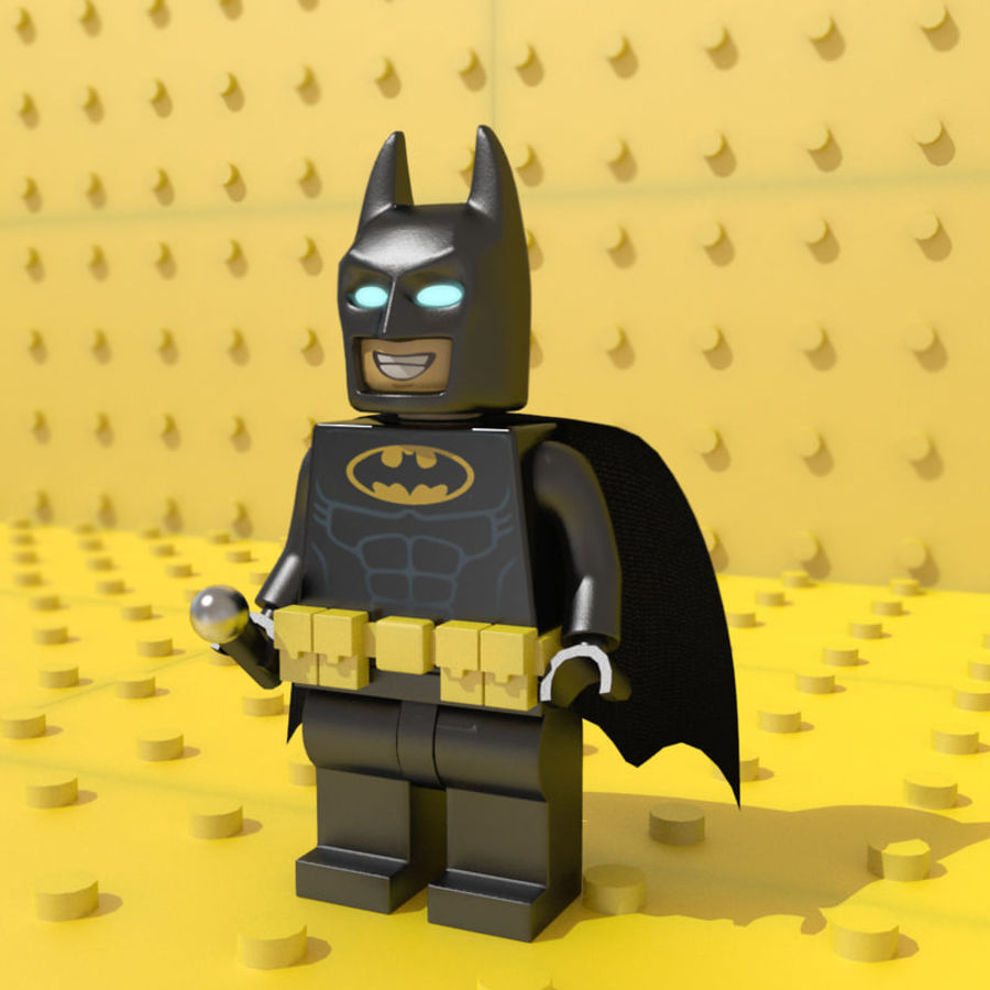 LEGO Batman royalty-free 3d model - Preview no. 1