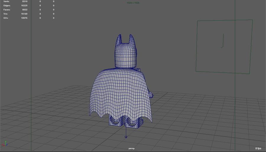 레고 배트맨 royalty-free 3d model - Preview no. 7