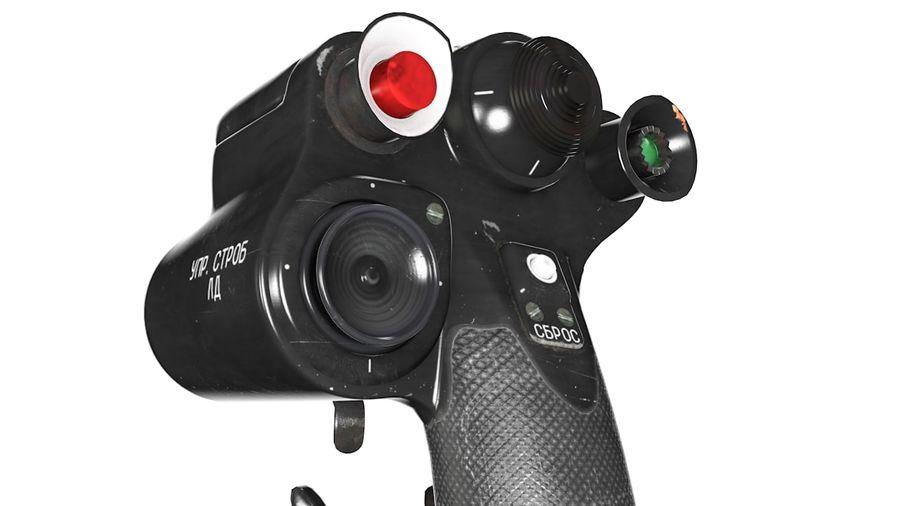 Joystick MIG-29 royalty-free 3d model - Preview no. 5