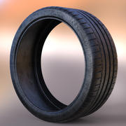 Michelin Pilot Super Sport Full 3D 3d model