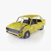 ВАЗ 2101 Ржавый 3d model