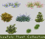 低ポリ植物コレクション 3d model