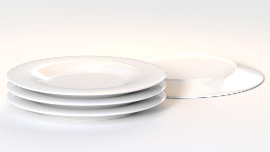 Klassische Keramikplatte royalty-free 3d model - Preview no. 4