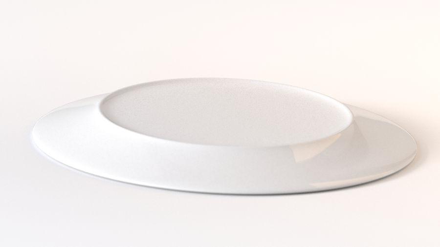 Klassische Keramikplatte royalty-free 3d model - Preview no. 2