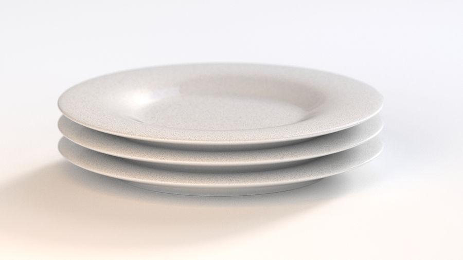 Klassische Keramikplatte royalty-free 3d model - Preview no. 3