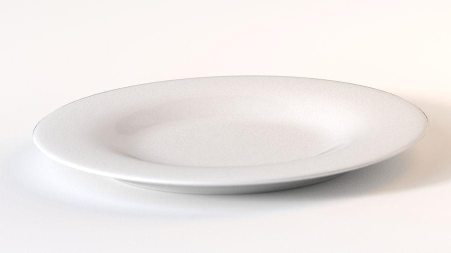 Klassische Keramikplatte royalty-free 3d model - Preview no. 1