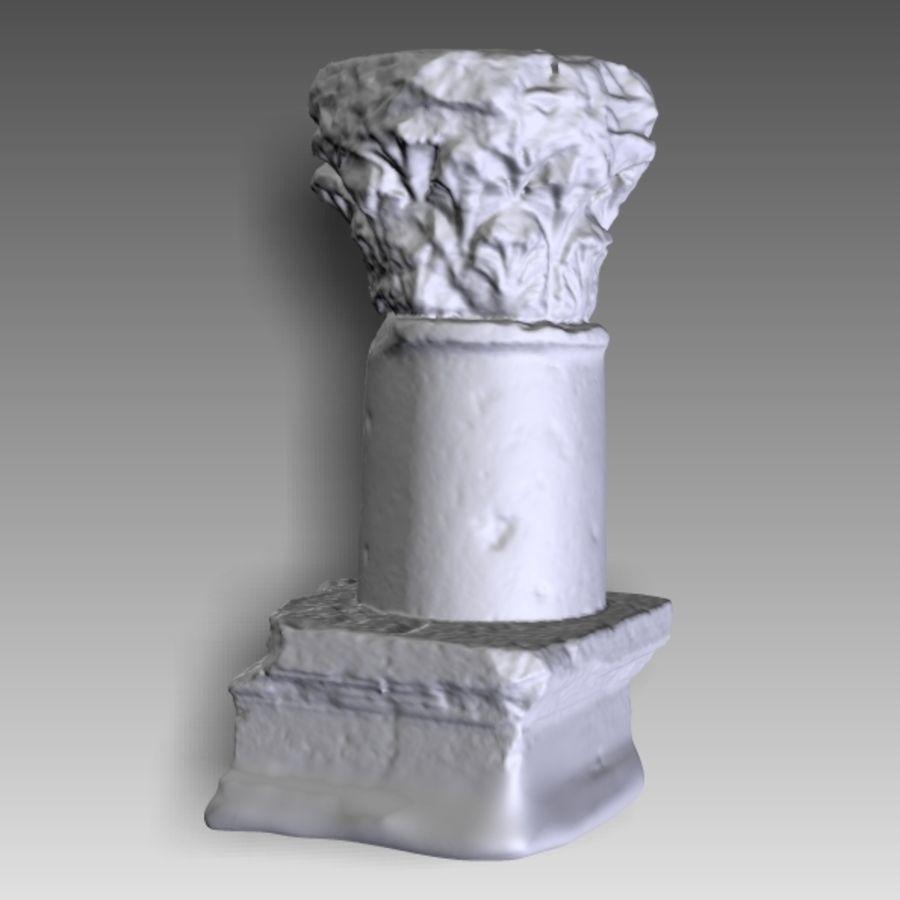 Colonne Capital 3D Print royalty-free 3d model - Preview no. 14