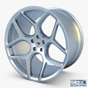 Vossen CG 205 19 wheel silver 3d model