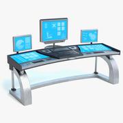 科幻控制面板2 3d model