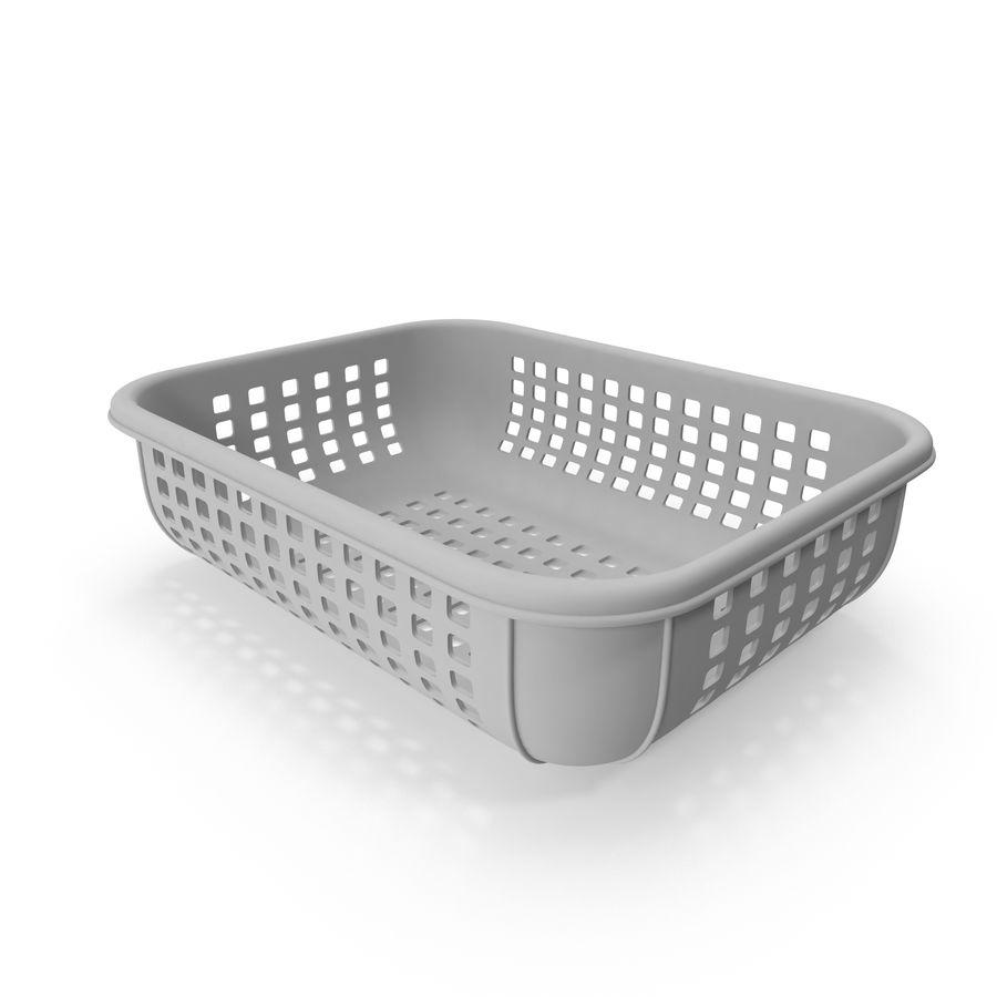 Пластиковая корзина royalty-free 3d model - Preview no. 6