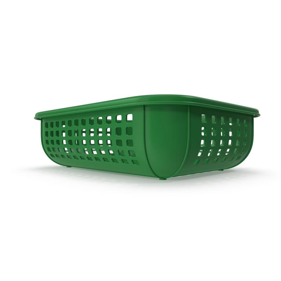 Пластиковая корзина royalty-free 3d model - Preview no. 3