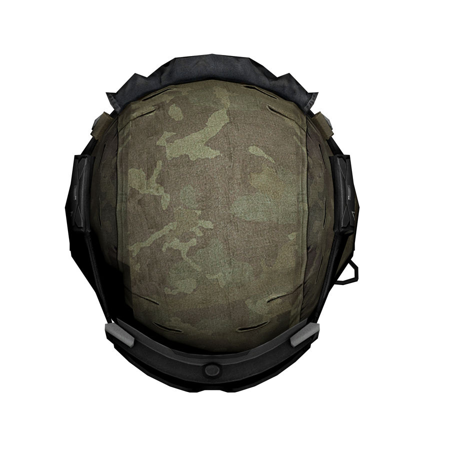 Military Helmet royalty-free 3d model - Preview no. 6