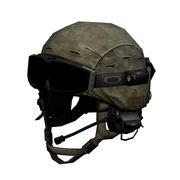 Elmetto militare 3d model