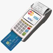 Pos Payment Terminal 3d model