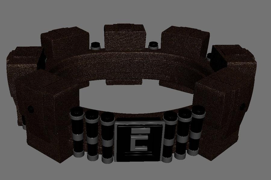 英雄小工具腰带 royalty-free 3d model - Preview no. 2