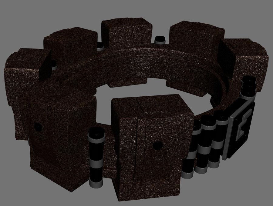 英雄小工具腰带 royalty-free 3d model - Preview no. 3