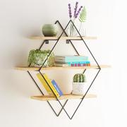 Diamond shelf set 3d model