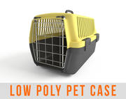 Pet Carry Animal Carrier Low Poly 3d model