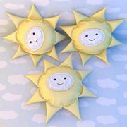Almohadas de sol modelo 3d